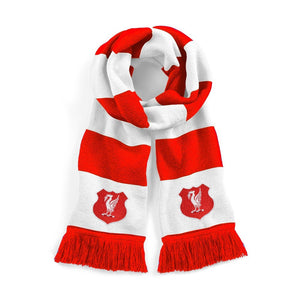 Liverpool Retro Football Scarf - Old School Football