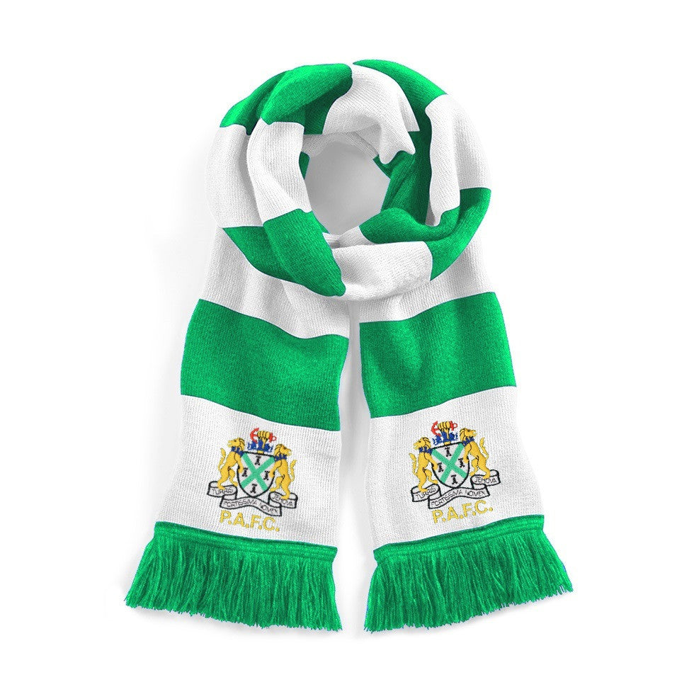 Plymouth Argyle Retro Football Scarf 1950s - Scarf
