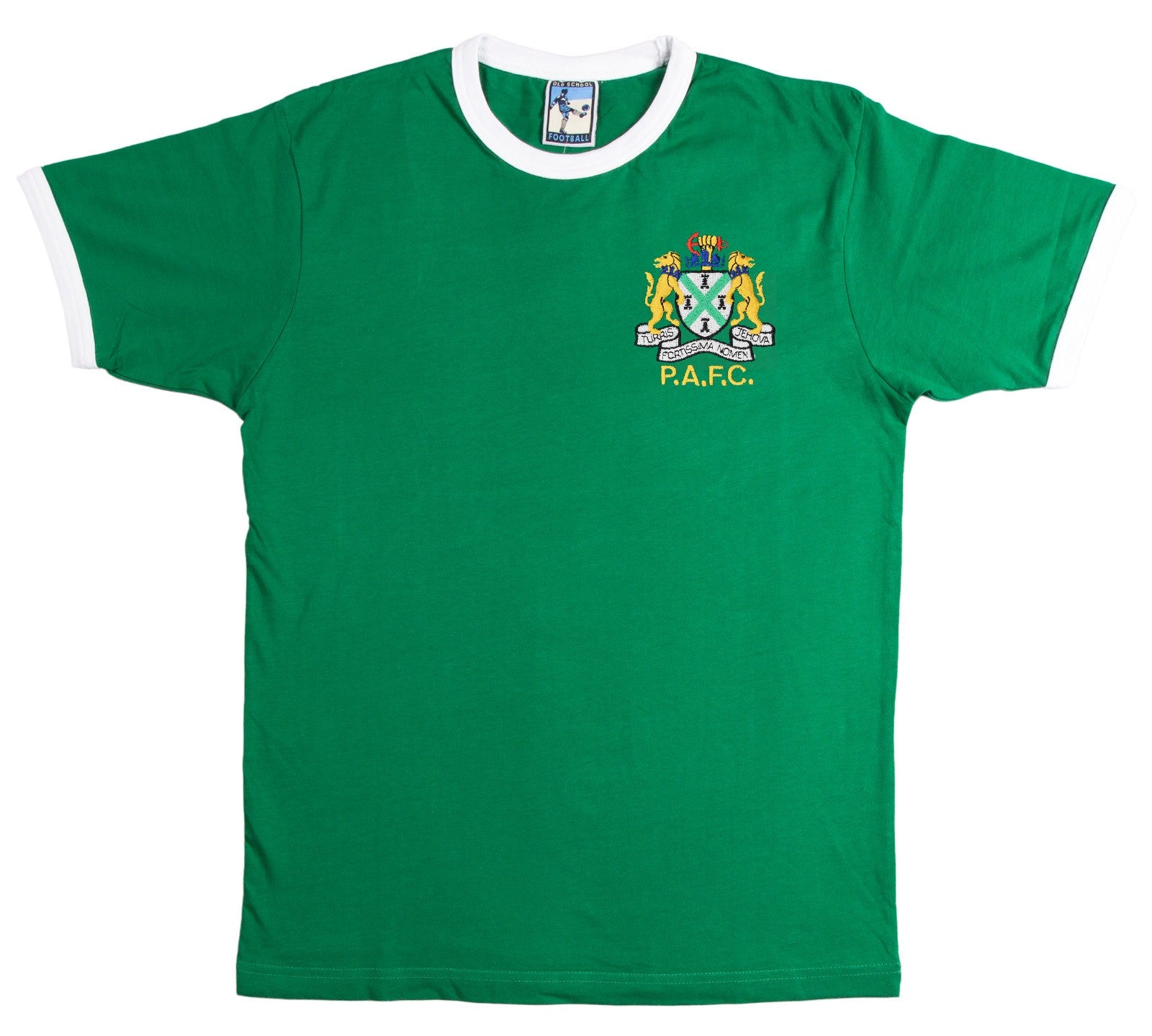 Plymouth Argyle Retro Football T Shirt 1950s - T-shirt