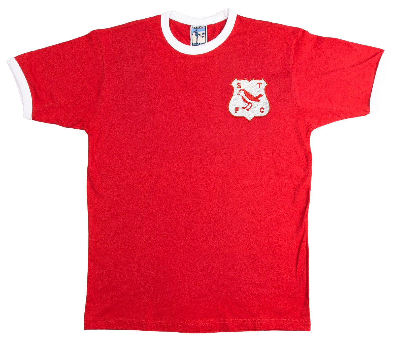 Swindon Town Retro Football T Shirt 1960s - T-shirt