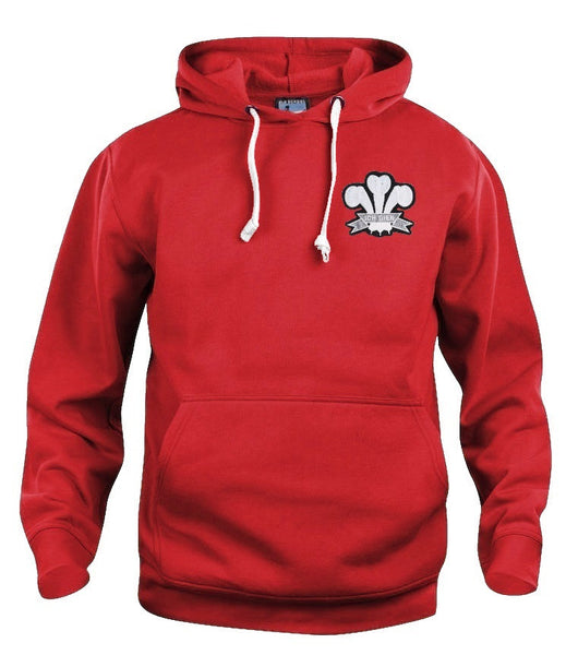 Wales National Rugby Hoodie - Old School Football