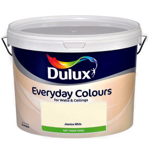 Dulux Vinyl Soft Sheen Jasmine White  10L