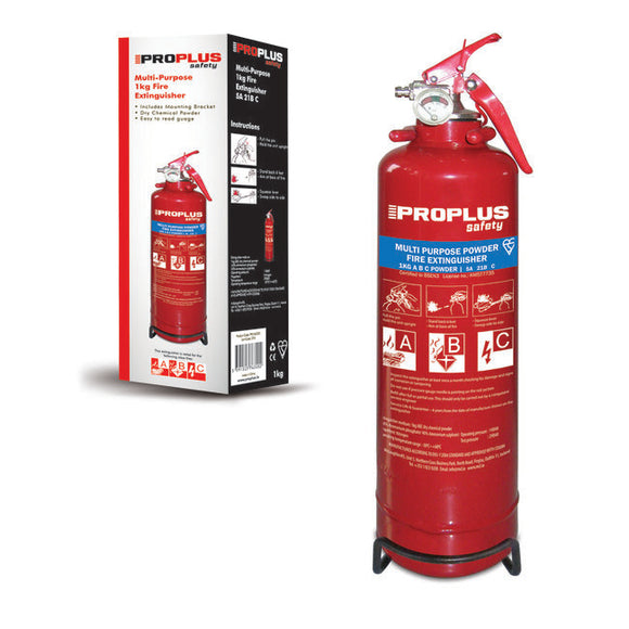 Proplus Multi Purpose Fire Extinguisher 1kg