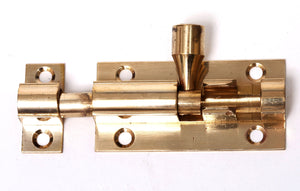 """Phx 2"""" Brass Barrell Bolt (TP)"""