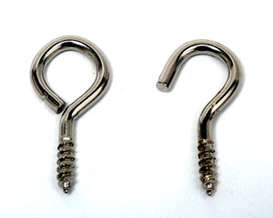 Phx Curtain Wire Hook & Eye Set (4) (TP)
