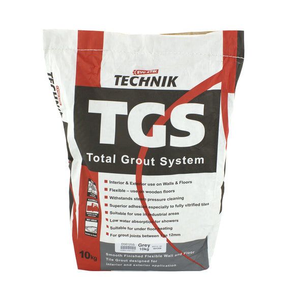 TECHNIK TGS GREY GROUT 10KG