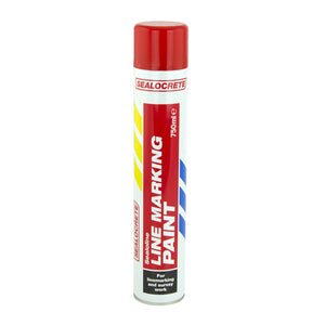 SEALOCRETE LINE MARKING PAINT RED 750ML