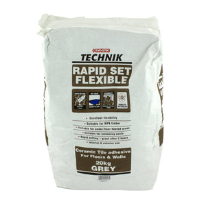 TECHNIK RAPID SET FLEX GREY 20KG