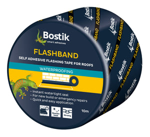 FLASHBAND GREY 150MM X 10M ROLL