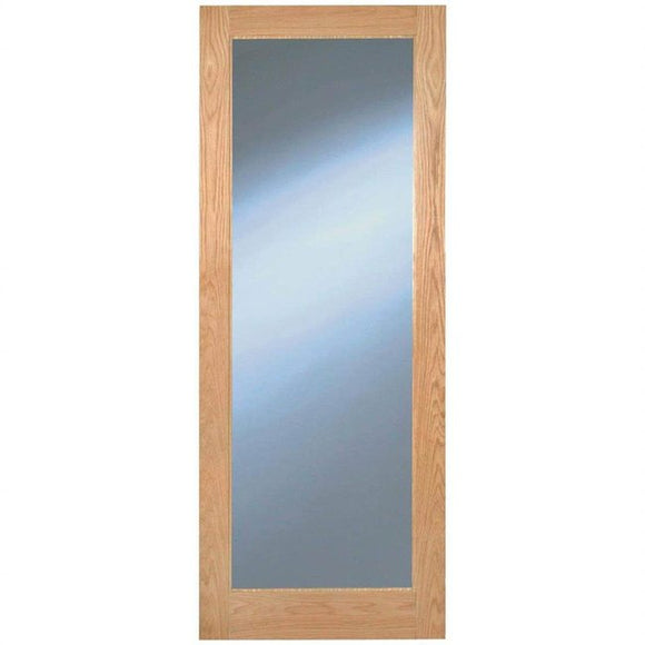 Indoors Rushmore Clear Glazed Oak Door Pre-Fin
