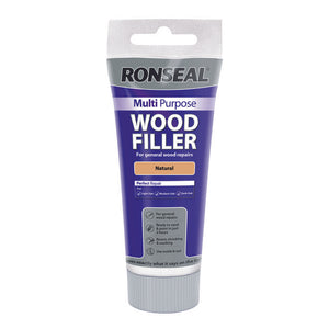 Ronseal Multi Purpose Wood Filler Tube 325g Natural