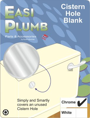 Easi Plumb Chrome Plated Cistern Overflow Stopper