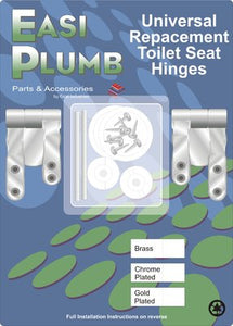 Easi Plumb Hinge Kit (Chrome Plated)