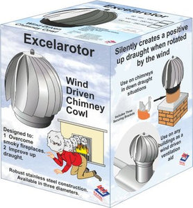 Chimney 100mm - 200mm Excelarotor Cowl