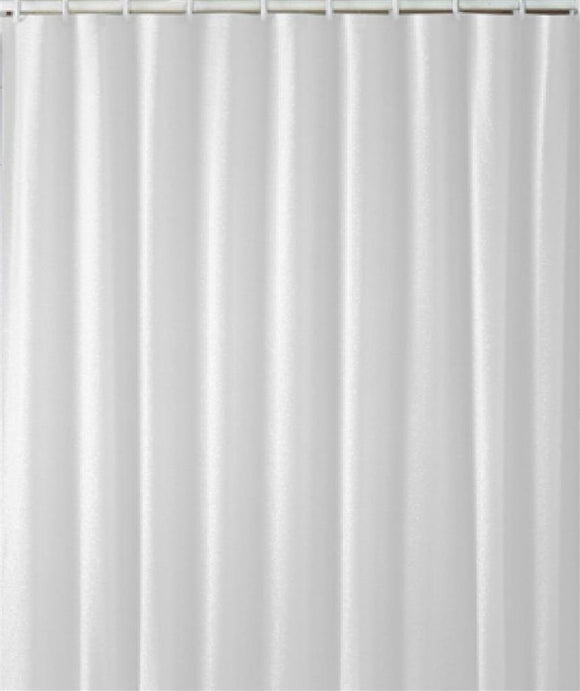 EUROSHOWERS CURTAIN WHITE DIAMOND 200X200 POLYBAG
