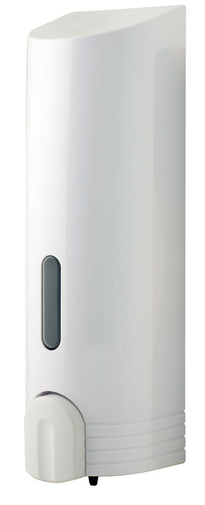 EUROSHOWERS TALL WHITE SINGLE DISPENSER