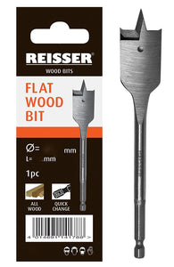 REISSER FLAT WOOD BIT 25 x 150mm