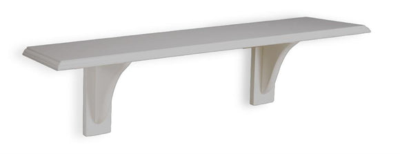 TEMA STRAIGHT SHELF 600 X 200 X 15 GREY