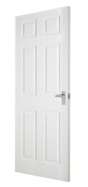 Indoors Carrick Moulded 6 Panel Smooth Door