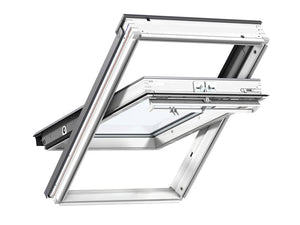 Velux White Painted Centre Pivot Roof Window MK 06 - 78X118Cm