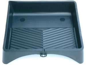 Black Plastic Tray 15""