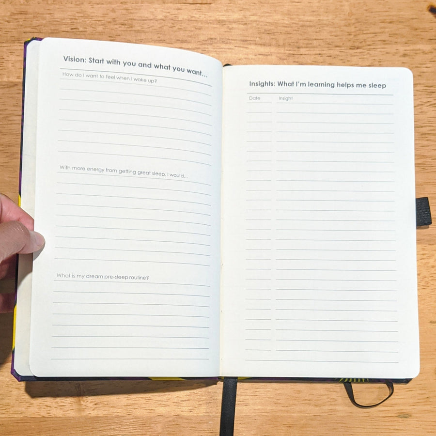 custom sleep journal