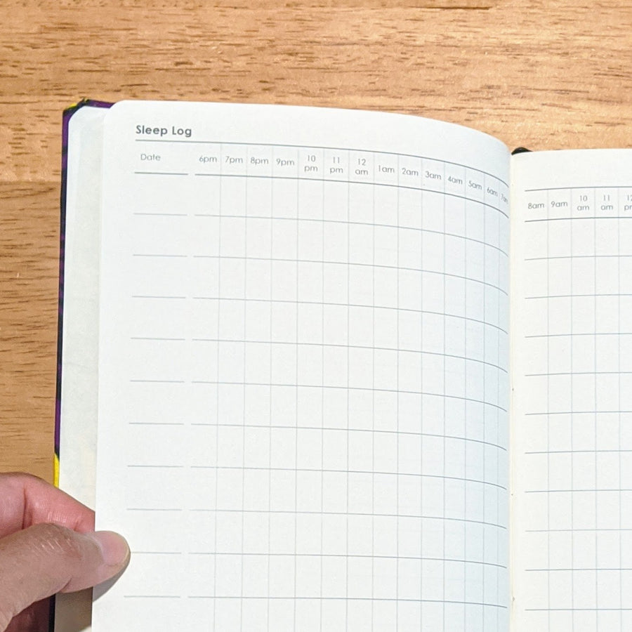 sleep journal log
