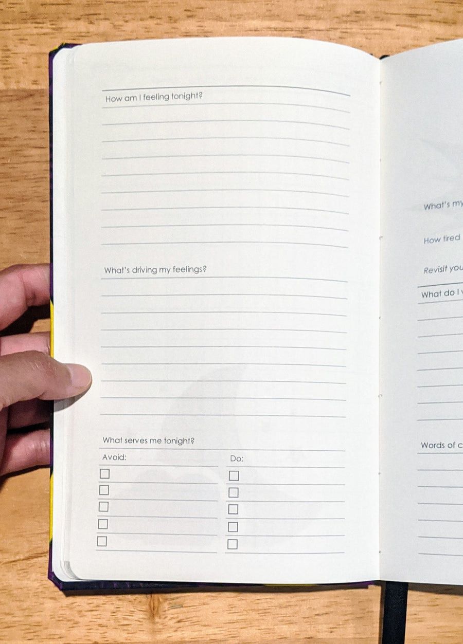 Zenit Wellness Journal, Sleep Journal