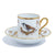 Richard Ginori Impero Voliere Ortolan Coffee Cup With Saucer