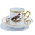 Richard Ginori Impero Voliere Geai Coffee Cup With Saucer