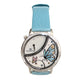 Bijoumontre Secret Garden Collection Ladies Watch Mop Dial With 0.36 Ct. Diamond