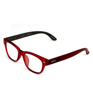B+D Eye Glasses Red