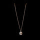 Digo Necklace 18 Carat White Gold