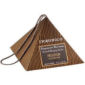 Durance Scented Hanging Sachet Golden Fire