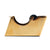 El Casco Tape Dispenser Gold Black