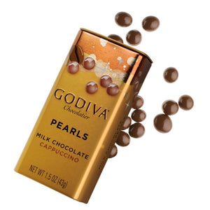 Godiva Pearls Milk Cappuccino 43g - Pack Of 2