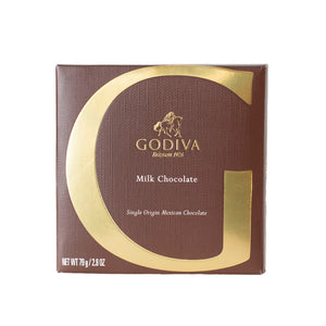 Godiva Tablet Milk Mexico 79g - (Pack Of 2)