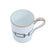 Richard Ginori Impero Catena Zaffiro Mugs Set