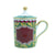 Richard Ginori Infusion Totem Scimmia Mug With Cover