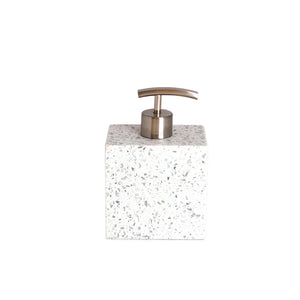 J.Queen New York Terrazo Lotion Dispenser Light Grey