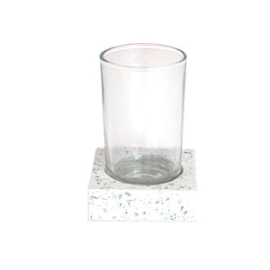 J.Queen New York Terrazo Tumbler Light Grey