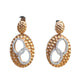 Korloff Bi Color Earrings With Diamonds