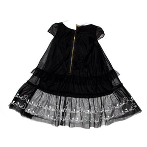Mimisol Black Dress
