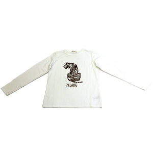 Alviero Martini Cream Long Sleeve T-Shirt