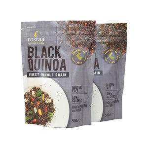 Rostaa Quinoa Black pack of two