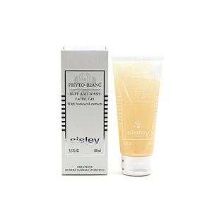 Sisley Phyto-Blanc Buff and Wash Facial Gel with Botanical Extracts - 100ml