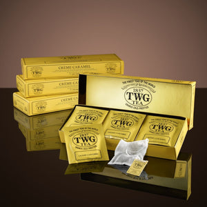 TWG Packed Tea Bags: Crème Caramel Tea 15x25g