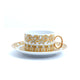 Versace Medusa Rhapsody Cups and Saucers Set of 6