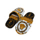 Versace Bath Slippers White-Gold-Balck