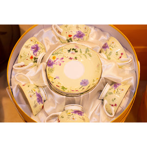 Stechol Fine Bone China Cups and Saucer 12pcs